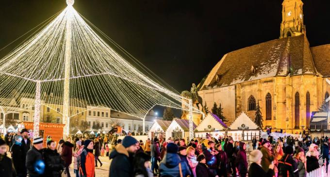 Astăzi se deschide Târgul de Crăciun din Cluj!