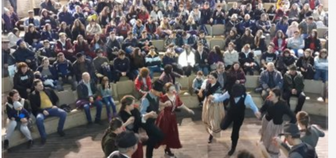 Ansamblul folcloric Kohoutek din Republica Ceha la Salina Turda