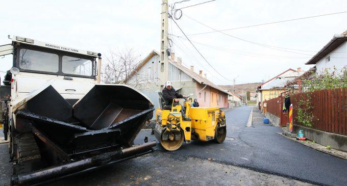 Încă 3 străzi din Turda au fost complet modernizate!