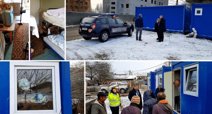Persoanele fără adăpost, protejate de către administrația locală la Câmpia Turzii