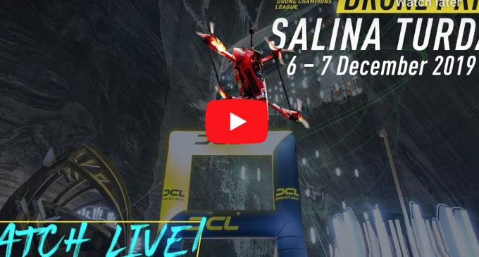 Drone Prix Salina Turda – Imagini transmise în DIRECT