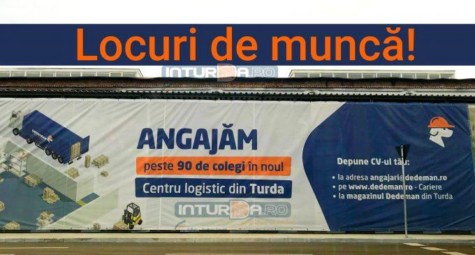 Peste 90 de locuri de muncă vacante la noul Centru Logistic DEDEMAN Turda
