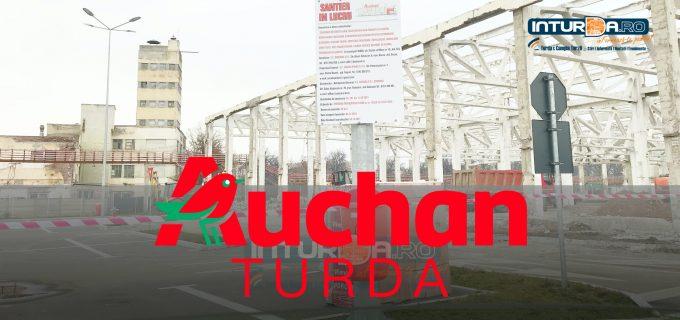 Auchan deschide un supermarket la Turda!