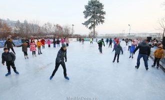 ACCES GRATUIT la patinoarul din Parcul Central!