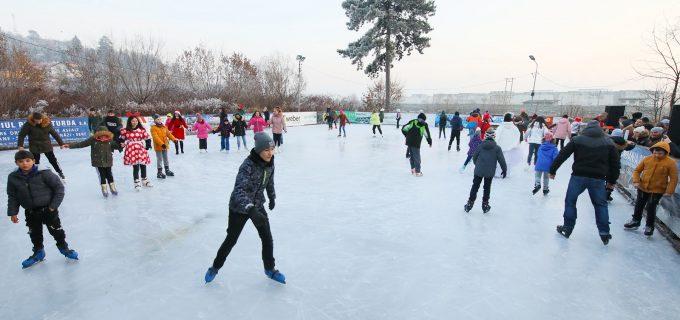 Ultimele zile la patinoarul din Turda. Acces gratuit în 1 și 2 februarie!