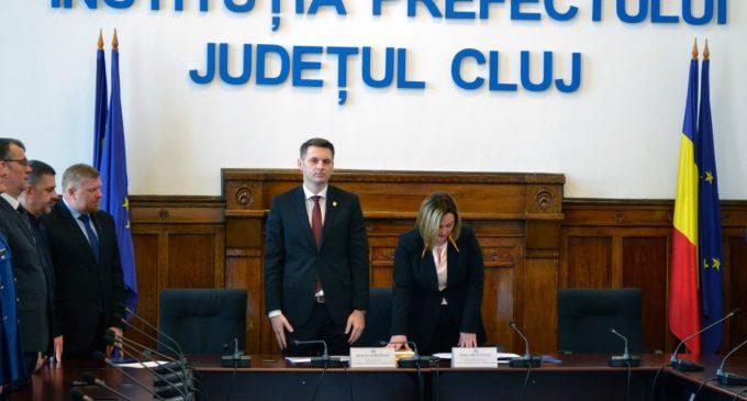 Irina Munteanu, noul subprefect al județului Cluj