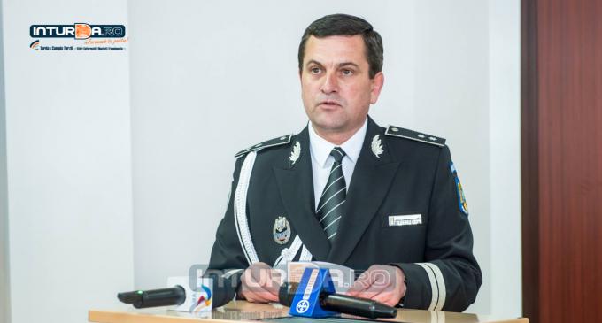 Șeful Poliției municipiului Câmpia Turzii a refuzat să sufle în etilotest! Acesta a fost oprit de polițiști pe strada Laminoriștilor