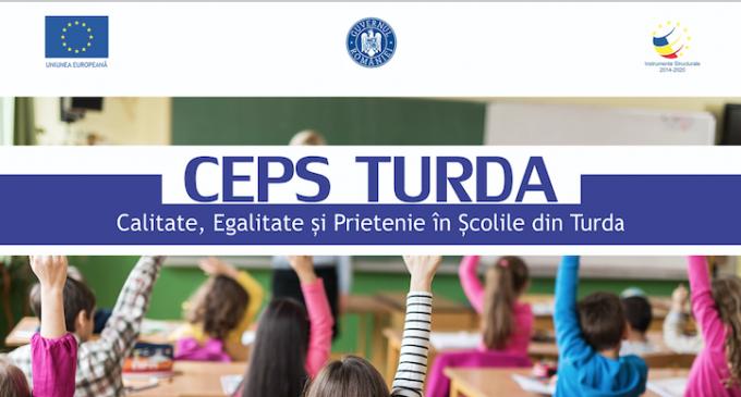 CEPS TURDA – Calitate, Egalitate și Prietenie în Școlile din Turda