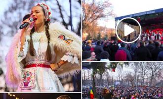 Foto/VIDEO: Turda, 24 ianuarie 2020