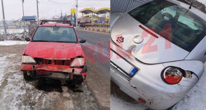 Accident în apropierea benzinăriei Petrom din Câmpia Turzii