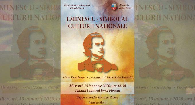 Eminescu – simbol al culturii naționale – va fi omagiat la Câmpia Turzii