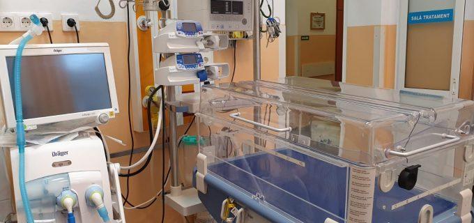 Consiliul Județean Cluj a achiziționat noi echipamente medicale ultraperformante, în valoare de peste 2.500.000 de lei, pentru Spitalul de Copii