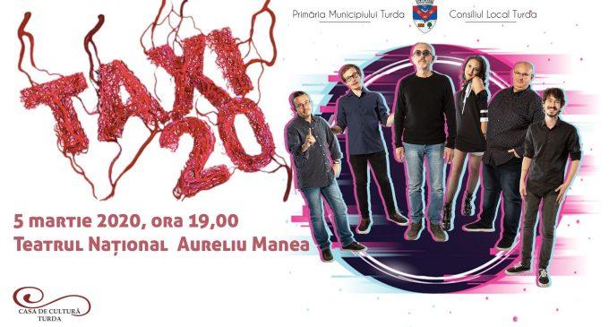 Trupa Taxi – în concert la Turda, în data de 5 martie 2020