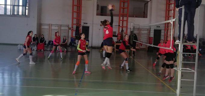 CSS TURDA a învins formația ACS Silvania Sport, într-un meci din cadrul Campionatului National de volei feminin