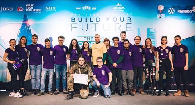 CyberPunk Robotics au câștigat competitia regională BRD FIRST Tech Challenge România