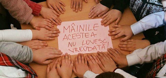 Poliția Română: Spune NU violenței în școli!