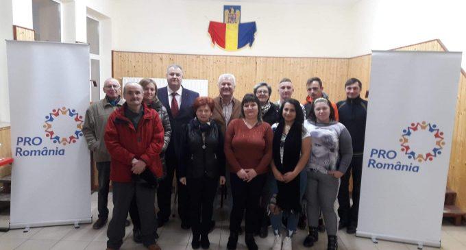 S-a constituit organizația PRO România în comuna Tureni