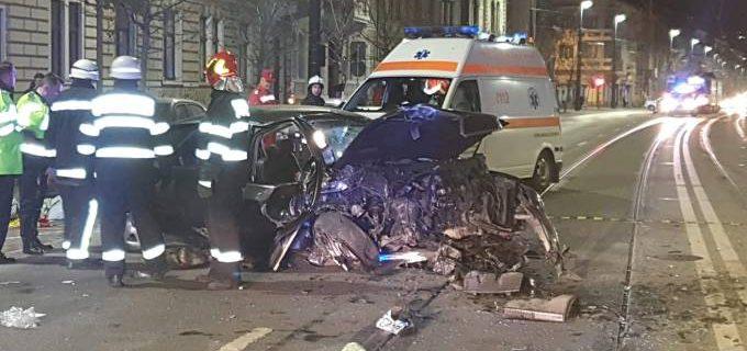 VIDEO: Scena înfiorătoare pe o arteră principală din Cluj. Șoferul care a cauzat accidentul mortal a fugit de la fața locului