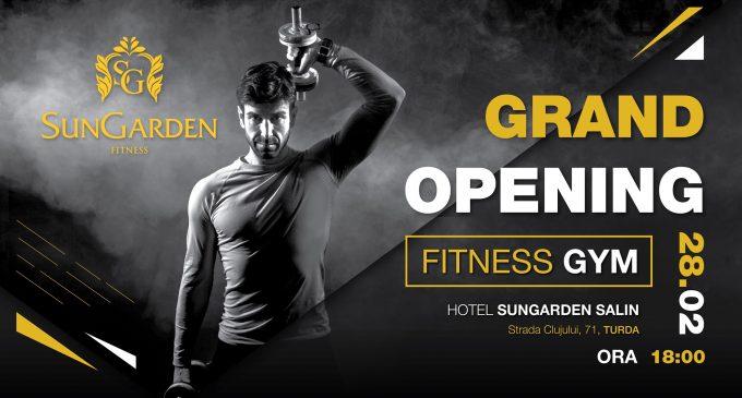 O noua sală de Fitness la SunGarden Salin!