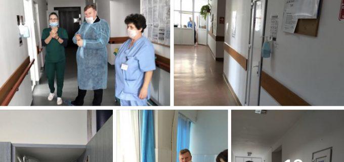 Dorin Lojigan a fost in control inopinat la Spitalul Dr. Cornel Igna