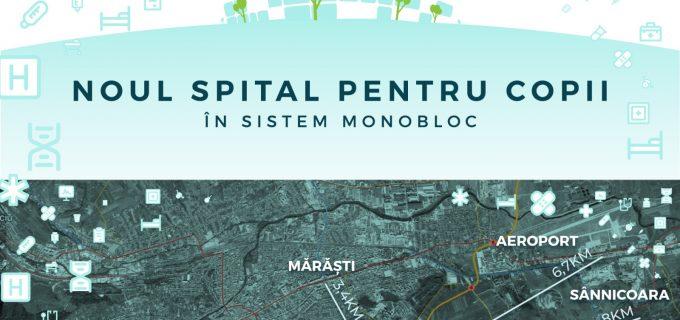 Consiliul Județean Cluj a aprobat preluarea terenului de cca. 17 ha pe care va construi Spitalul Pediatric Monobloc
