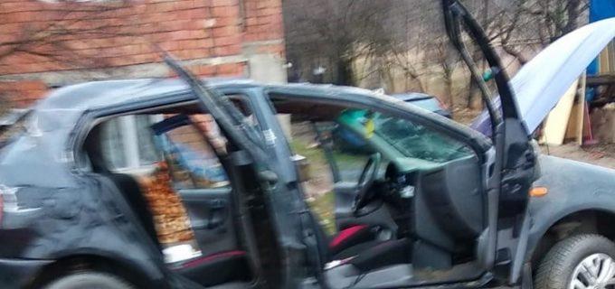 Accident rutier in Valcele. 4 autovehicule implicate.