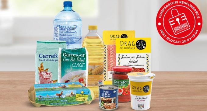 Carrefour: Până la 500 de produse de bază cu prețuri blocate* până de Paște