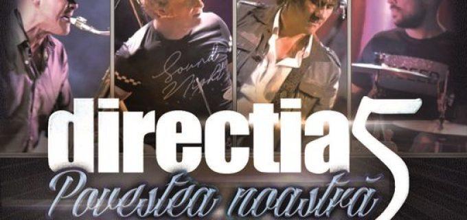 """Direcția 5 va concerta la Turda în cadrul turneului național """"Povestea noastră – 30 de ani"""""""