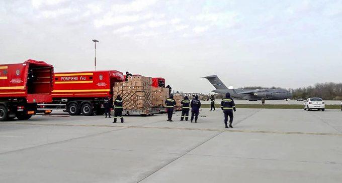 45 de tone de echipamente medicale din Coreea de Sud vor fi distribuite în țară de IGSU