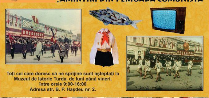 Campanie de donare de obiecte din epoca comunista la Muzeul de Istorie Turda