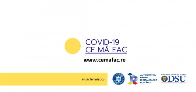 Cemafac.ro – ghid cu reguli de interacțiune, acțiune și comportament pentru această perioadă de criză