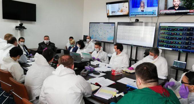 Măsurile luate de Guvernul României prin centrul de comandă organizat la Ministerul Sănătății