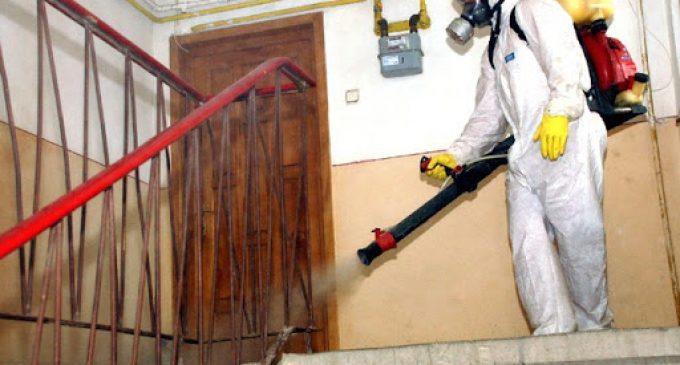 De astăzi începe dezinfecția scărilor de bloc din Municipiul Câmpia Turzii