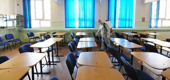 Cristian Matei: am început procesul de dezinfecție a unităților de învățământ din Turda!