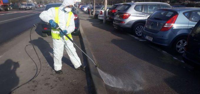 UPDATE: Amânare din cauza vremii nefavorabile. Toate străzile, aleile și trotuarele din Câmpia Turzii vor fi dezinfectate