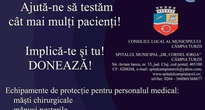 Primăria Câmpia Turzii – campanie pentru sprijinirea Spitalului Dr. Cornel Igna