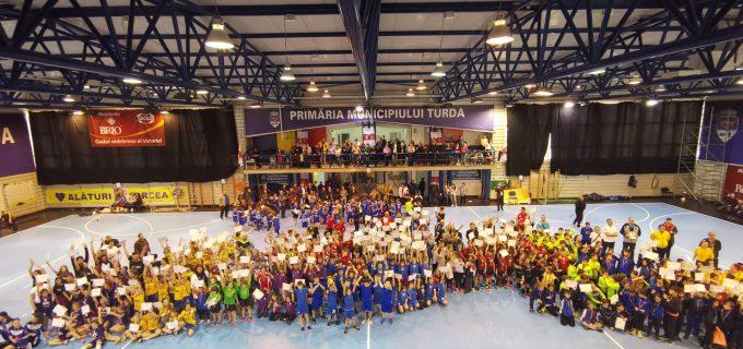 Cristian Matei: Turda – capitala handbalului pentru copii. Felicitări tuturor participanților și organizatorilor.