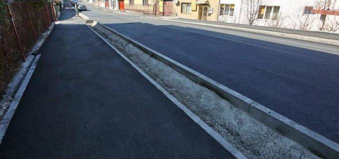 FOTO/VIDEO: Strada George Coșbuc a fost modernizată de Primăria Turda