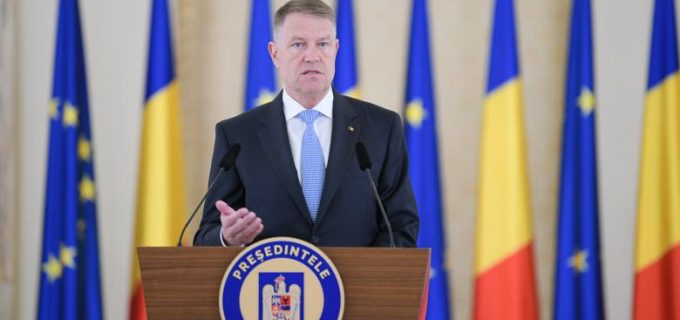 Klaus Iohannis: O relaxare va fi făcută în paşi, după 15 mai!