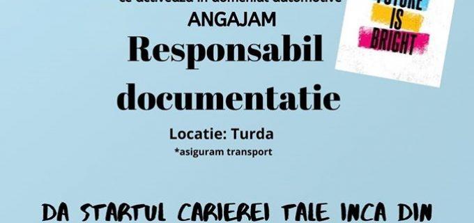 MMM Autoparts Turda angajează Responsabil Documentație. Se caută studenți din Turda sau Câmpia Turzii,program part-time