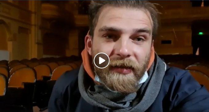 """#StămAcasă: campanie realizată de Teatrul Național """"Aureliu Manea"""" Turda și Primăria Turda"""