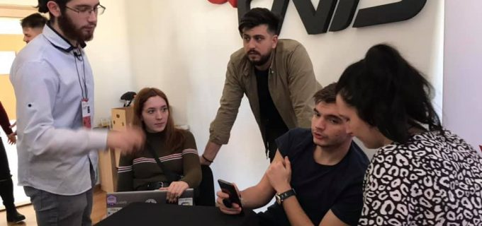 VIDEO: Cum a decurs a 2-a ediție Tech-Up organizată de Centrul Civic de Tineret Turda