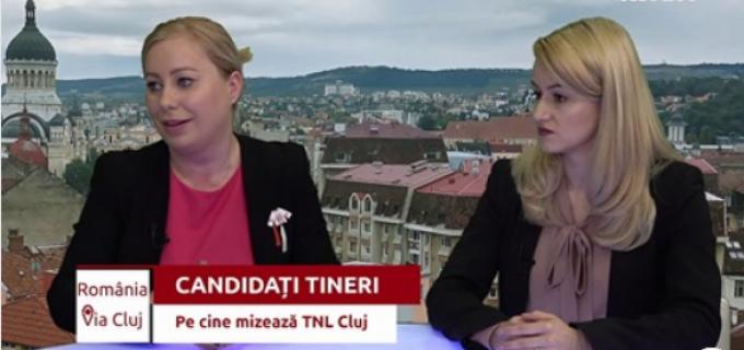Georgiana Sima, președinteTNL Câmpia Turzii, a participat la emisiunea România via Cluj