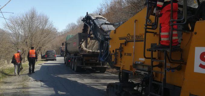 Consiliul Judetean Cluj a demarat lucrari de modernizare pe drumul Băișoara – Iara – Surduc – Buru (DN 75)