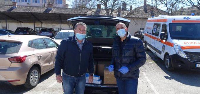 Rotary Turda și Rotaract Turda au donat materiale de protecție în valoare de50.000 leipentru spitalele din Turda, Câmpia Turzii, DAS Turda și Poliția Locală Turda!