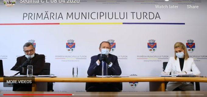 VIDEO: Ședința de îndată a Consiliului Local Turda din data de 8 aprilie 2020