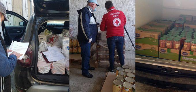 Crucea Roşie Cluj a donat către Direcţia de Asistenţă Socială a Municipiului Turda produse neperisabile și echipamente de protecție
