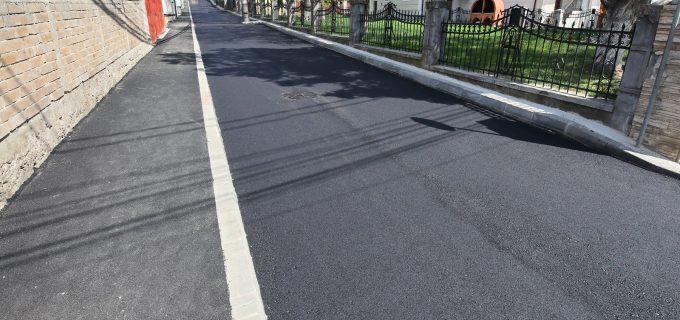 FOTO/VIDEO: Lucrările de modernizare a străzii Ion Moldovan au fost finalizate!