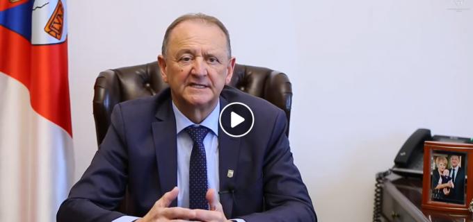 VIDEO: Mesajul primarului Cristian Octavian Matei cu ocazia Sărbătorilor Pascale