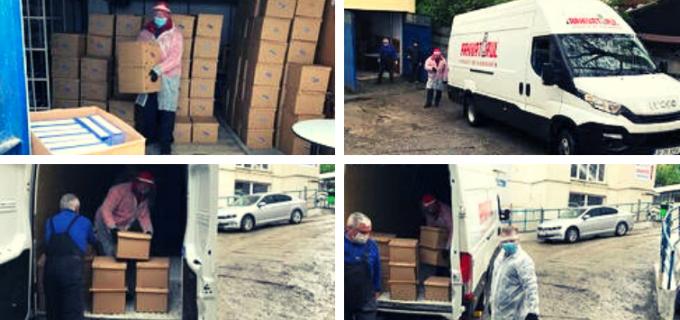 Institutul Inimii din Cluj-Napoca își relocă arhiva de documente pentru reorganizarea activității în contextul pandemiei COVID-19